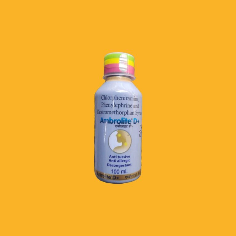 Ambrolite D Plus Syrup