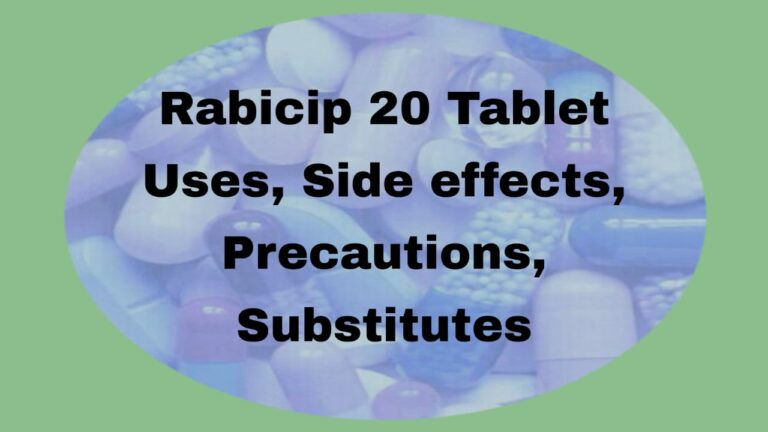 Rabicip 20 Tablet