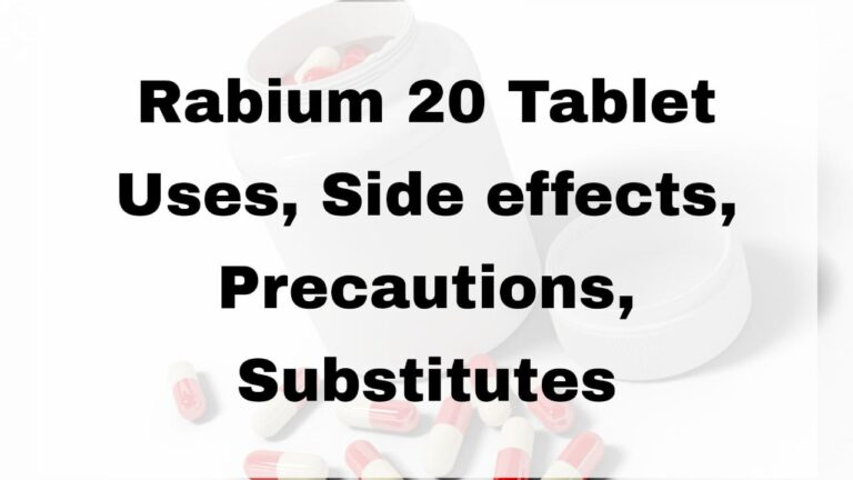 Rabium 20 Tablet