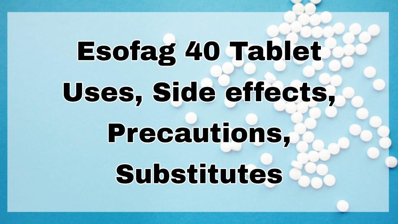 Esofag 40 Tablet