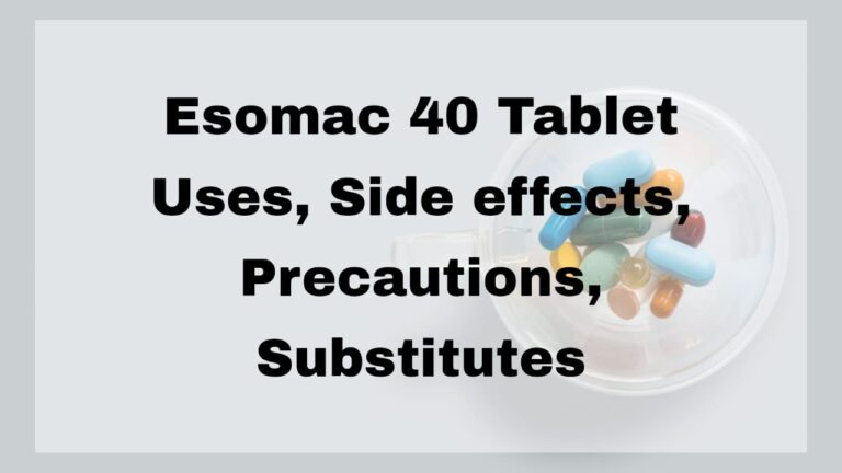 Esomac 40 Tablet