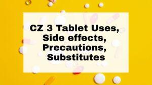 CZ 3 Tablet