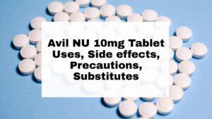 Avil NU 10mg Tablet