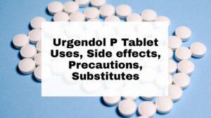 Urgendol P Tablet