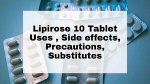 Lipirose 10 Tablet