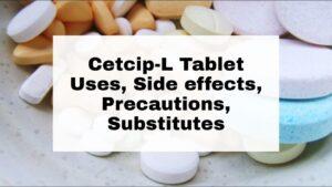 Cetcip-L Tablet