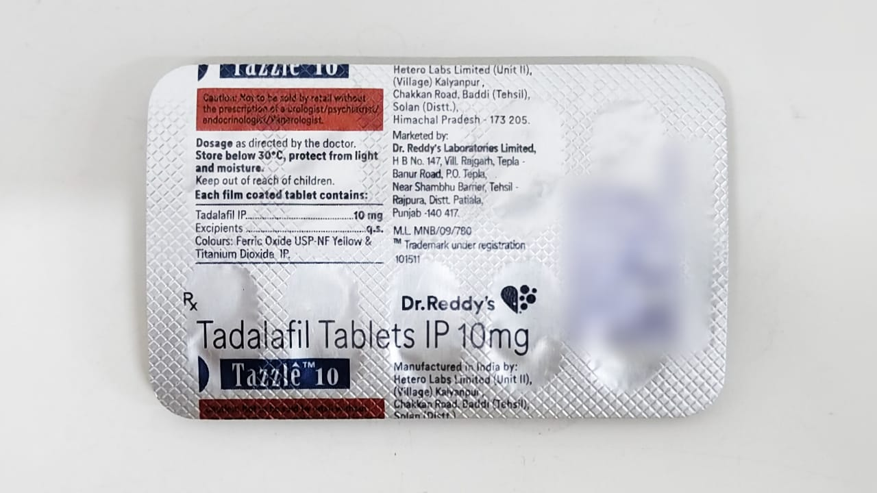 Tazzle 10 Tablet