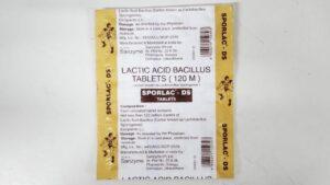 Sporlac-DS Tablet