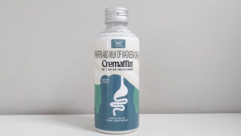Cremaffin Syrup uses