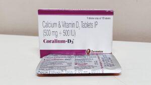 Coralium-D3 Tablet
